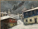 Marc Chagall Russian village, 1929 Oil on canvas, 73x92 cm Private Collection, Swiss Chagall, by SIAE 2018 (ANSA)