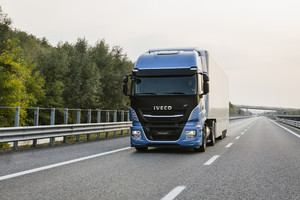 Iveco Stralis Natural Power (ANSA)