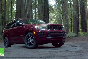 Jeep Grand Cherokee L–Made in Detroit (ANSA)