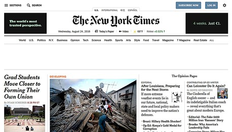 The New York Times (ANSA)